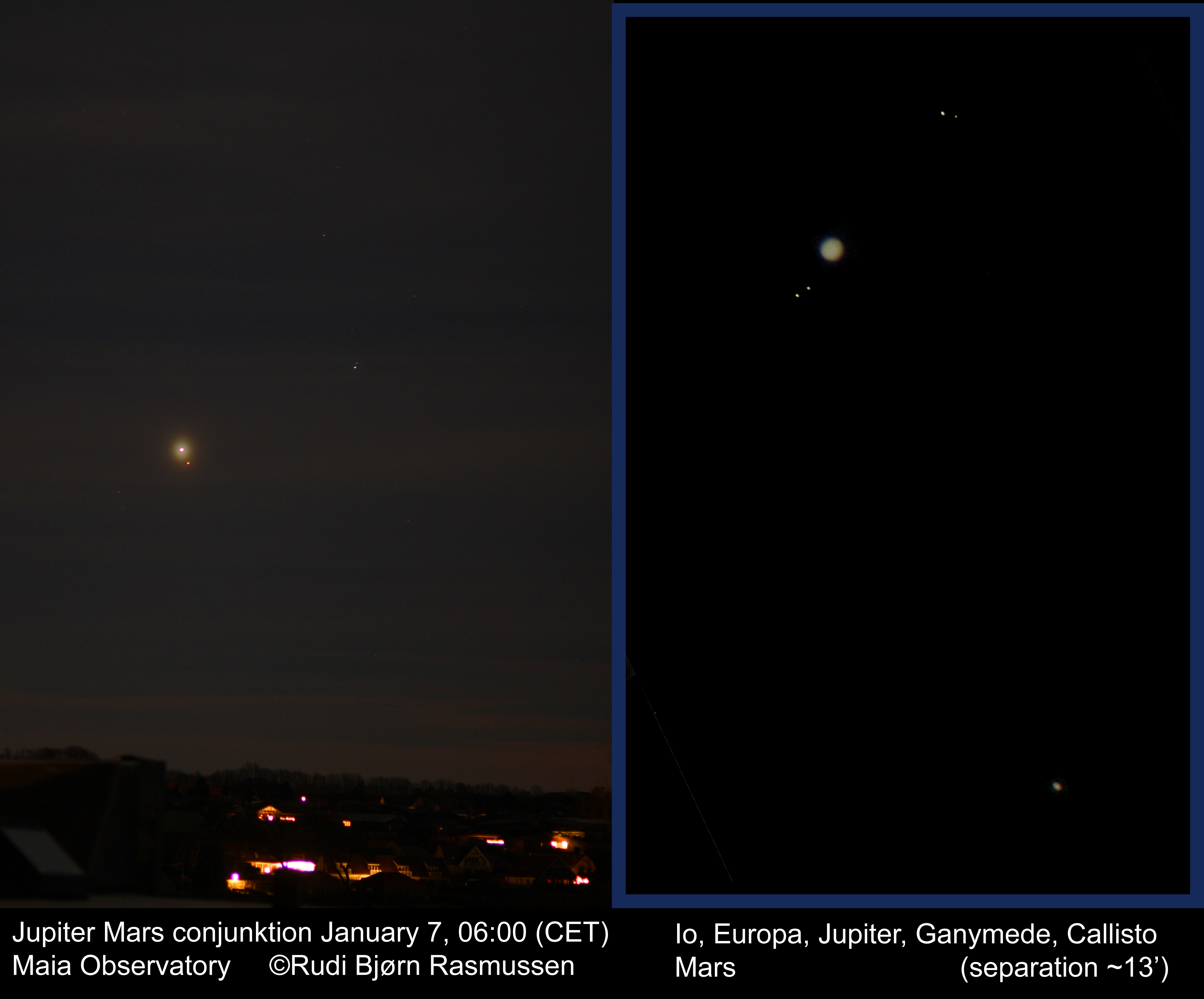 Jupiter Mars konjuktion 7 1-2018 - Astronet forum 2abb3741c76ed